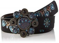 Comparateur de prix Desigual Belt_deva Reversible ceinture Femme,Noir , 90