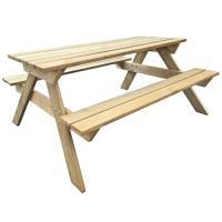 Acheter vidaXL Bois Table de Pique-Nique Table de Jardin Terrasse Meuble Extérieur au meilleur prix