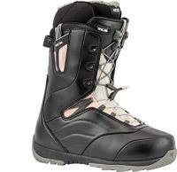 Comparateur de prix Nitro Snowboards Crown TLS '20 All Mountain Freeride Freestyle Chaussures de Snowboard pour Femme Noir/Rose 25,5