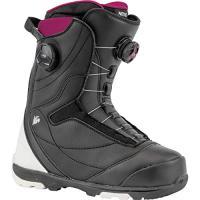 Comparateur de prix Nitro Snowboards Cypress Boa Dual 20 All Mountain Freestyle Bottes de Snowboard à Lacets pour Femme Noir/Blanc 27.0