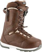Comparateur de prix Nitro Snowboards pour Femme Crown TLS '19 Chaussures de Snowboard légères avec système de laçage Rapide Allround Freestyle Freeride Bottes Chaudes, Marron, 24,5