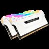 Mémoire PC Corsair CMW16GX4M2C3200C16W RGB (2x8Go DDR4 3200 PC25600)