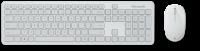 Nouveau Microsoft Atom noir - Ensemble Clavier + Souris sans fil silencieux + Pavé num