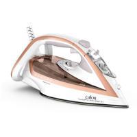 comparateur de prix Fer a repasser Calor FER VAPEUR TURBO PRO ANTI-CALC 2800 W Blanc et Rose Gold FV5687C0