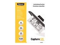 Comparateur de prix Fellowes Laminating Pouches Capture 125 micron - 250 - A4 - pochettes plastifiees
