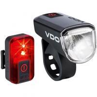 Comparateur de prix VDO - Eco Light M30 Set - Jeu d'éclairage à vélo noir