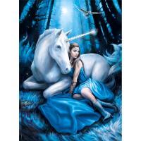 Comparateur de prix Clementoni Puzzle 1000 pièces : Lune bleue