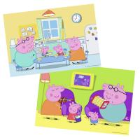 Comparateur de prix Puzzles 2 x 12 pièces Ravensburger A la maison Peppa Pig