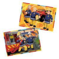 Comparateur de prix Puzzle 2 x 12 pièces : sam le pompier : sam en intervention