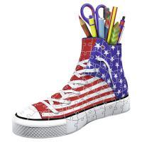 Comparateur de prix Ravensburger - Puzzle 3D - Sneaker - American Style - 12549
