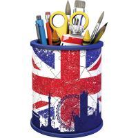 Comparateur de prix Puzzle 3D Pot à crayons : Union Jack