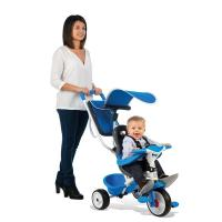 Comparateur de prix SMOBY Tricycle Baby Balade Roues Silencieuses Bleu