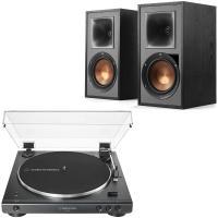 Comparateur de prix Audio-Technica AT-LP60XBT Noir + Klipsch R-51PM