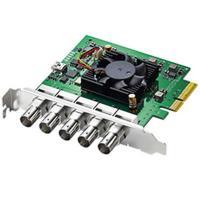 Comparateur de prix Carte d'acquisition vidéo - Blackmagic Design DeckLink Duo 2 - Carte d'acquisition avec 4 canaux indépendants pour la SD et la HD jusqu'à 1080p60