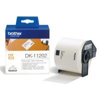 Comparateur de prix Brother Etiquettes Noir sur blanc Original DK-11202