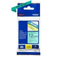 Comparateur de prix BROTHER TZe-731 Schriftband 12 mm laminiert grün/schwarz