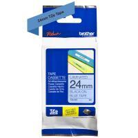 Comparateur de prix Ruban laminé standard BROTHER Noir/Bleu 24mm - TZE-551