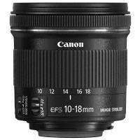 Comparateur de prix Canon EF-S 10-18mm f/4.5-5.6 IS STM