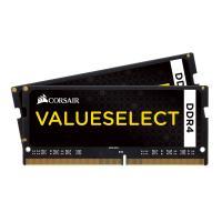 Comparer les prix du Corsair ValueSelect SO-DIMM DDR4 2 x 16 Go 2400 MHz CAS 16