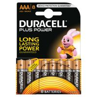 comparateur de prix Pile Duracell PLUS POWER AAA/LR03 x8