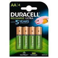 comparateur de prix Pack de 4 Piles Rechargeables Duracell AA-HR06 NIMH