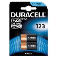 comparateur de prix Duracell Ultra 123 Lithium 3V (par 2)