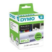 Comparateur de prix Rouleaux de 260 etiquettes 89x36 mm pour dymo labelwriter
