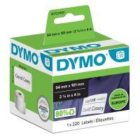Comparateur de prix Rouleau 220 etiquettes badge 101x54mm pour dymo labelwriter