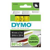 Comparateur de prix Dymo - 45808 - Ruban cassette - 19mm x 7m - Noir sur Jaune