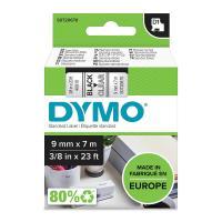 Comparateur de prix DYMO Ruban D1 Standard - noir/transparent 9 mm - 7 m