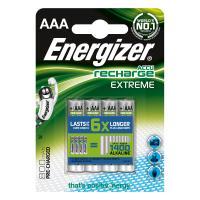 comparateur de prix Energizer Accu Recharge Extreme AAA 800 mAh (par 4)