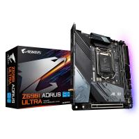 comparateur de prix Gigabyte Z590I AORUS ULTRA carte mère Intel Z590 Express LGA 1200 mini ITX