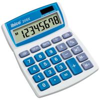 Comparateur de prix Rexel Ibico 208X Calculatrice de bureau Blanc/Bleu