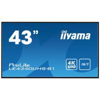 Comparer les prix du Moniteur - IIYAMA - LE4340UHS-B1