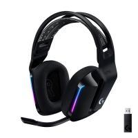 comparateur de prix Logitech Casque Gaming sans fil LIGHTSPEED G733 de Logitech avec Bandeau de Suspension, LIGHTSYNC RVB, Technologie de Micro Blue VO!CE et Transducteurs Audio PRO-G- BLACK