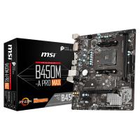 Comparer les prix du MSI B450M-A PRO MAX mATX Motherboard for AMD AM4 CPUs