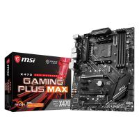 Comparer les prix du MSI X470 GAMING PLUS MAX ATX Motherboard for AMD AM4 CPUs