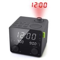 Comparateur de prix Muse M189 PMR Radio réveil noir avec projection de l'heure