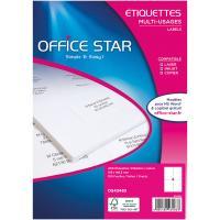 Office Star Etiquettes 105 x 148.5 mm x 400
