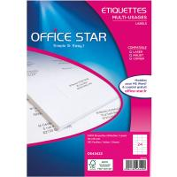 Comparateur de prix Office Star Etiquettes 70 x 35 mm x 2400