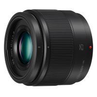 Comparer les prix du Objectif pour Hybride Panasonic 25mm f/1.7 noir Lumix G