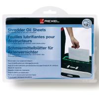 Comparateur de prix Rexel Schmiermittel-Blätter für Aktenvernichter, 12 Blatt