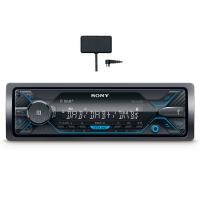 comparateur de prix Sony DSX-A510KIT Autoradio avec réception Dab/Dab+/FM et antenne Dab Incluse, Double Bluetooth, NFC, Siri Eyes Free, AUX et USB pour iPhone et iPod, Android Music Playback, Puissance 4 x 55 W,
