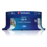Comparer les prix du Verbatim DataLife - 25 x BD-R - 25 Go 6x - surface imprimable par jet d'encre - spindle