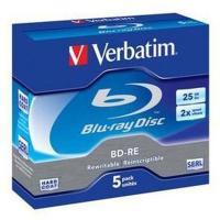 Comparer les prix du Verbatim BD-RE 25 Go 2x (par 5, boite)