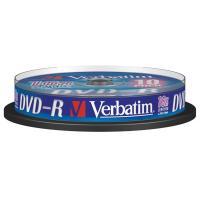 comparateur de prix Verbatim DVD-R 4.7 Go 16x (par 10, spindle)