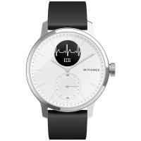 Montre connectée Withings Scanwatch 42mm Blanc  en solde