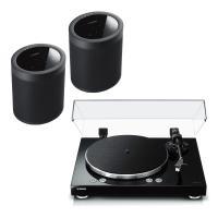 Comparateur de prix Yamaha MusicCast VINYL 500 Noir + Yamaha MusicCast 20 Noir