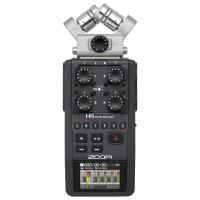 Comparateur de prix Zoom H6-BLK/IFS - Enregistreur 6 pistes portable à microphones interchangeables - 1x microphone XY, 1x microphone Mid-side et 4x entrées XLR