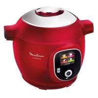 comparateur de prix MOULINEXCE85B510Multicuiseur intelligent COOKEO +6 L- 180 recettes préprogrammées - Rouge